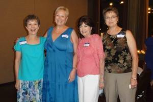 Missy Albright, Donna Dixon, Carolyn Miller, & Pat Lynch