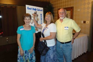Missy Albright, Linda Cullop & Jim Britton